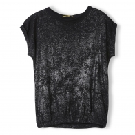 Barrington Black Hologram Sleeveless T-shirt