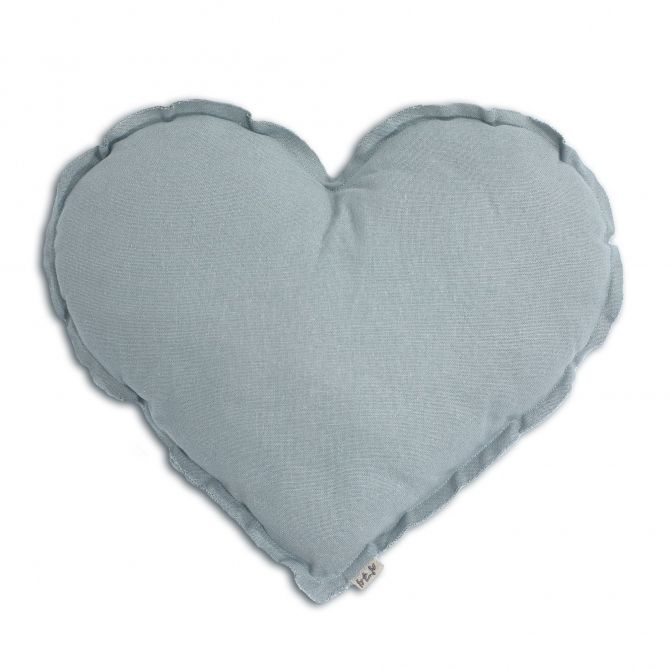Numero 74 Heart Cushion sweet blue