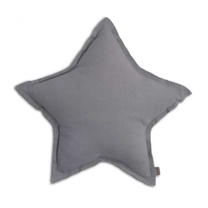 Numero 74 Star Cushion stone grey