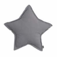 Star Cushion stone grey