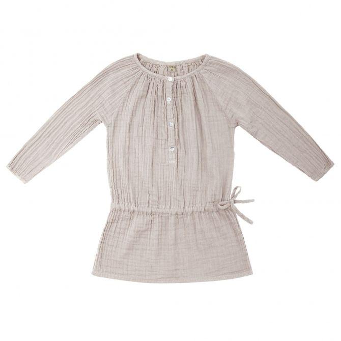 Sukienka dziecięca Naia pudrowa - Numero 74