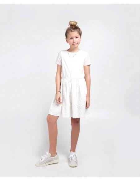 Les Coyotes de Paris Sukienka Florence biała