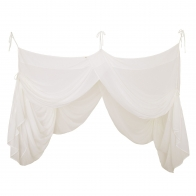 Bed Canopy Drape natural