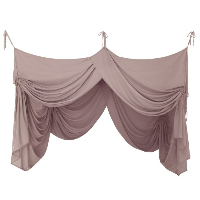 Bed Canopy Drape dusty pink - Numero 74
