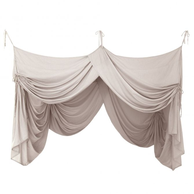 Bed Canopy Drape powder - Numero 74