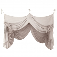 Bed Canopy Drape powder