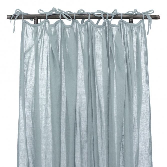 Gathered Curtain sweet blue - Numero 74
