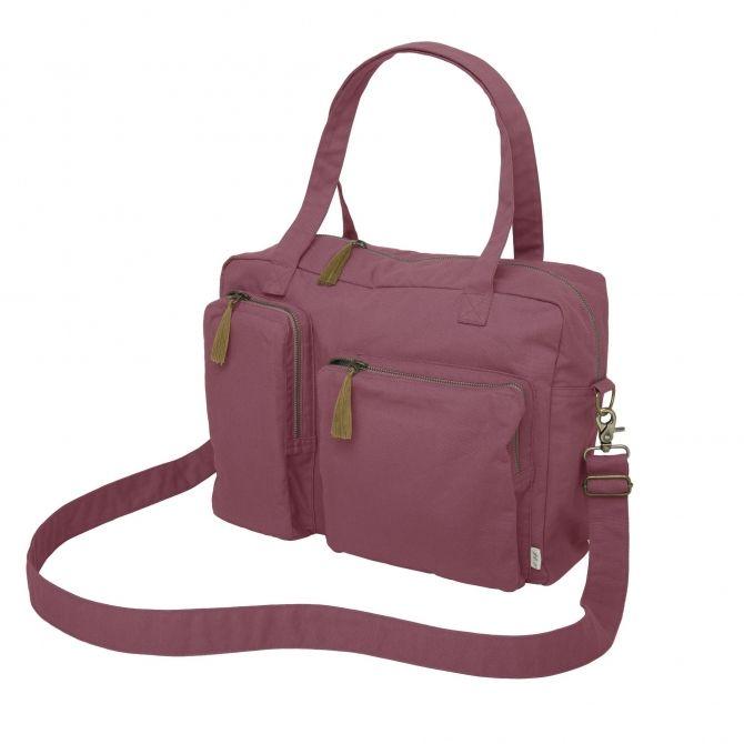 Torebka Multi Bag malinowa Numero 74 Moda kobieca