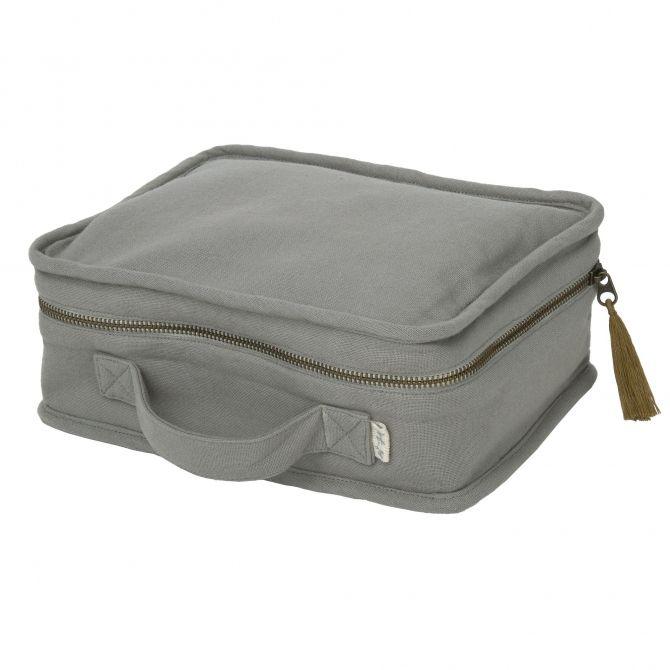 Numero 74 Suitcase silver grey