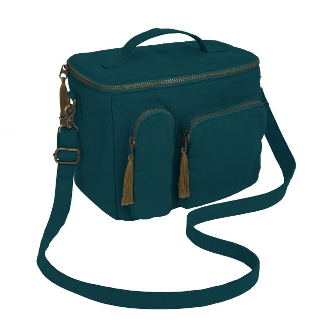 Picnic & Lunch Bag teal blue - Numero 74