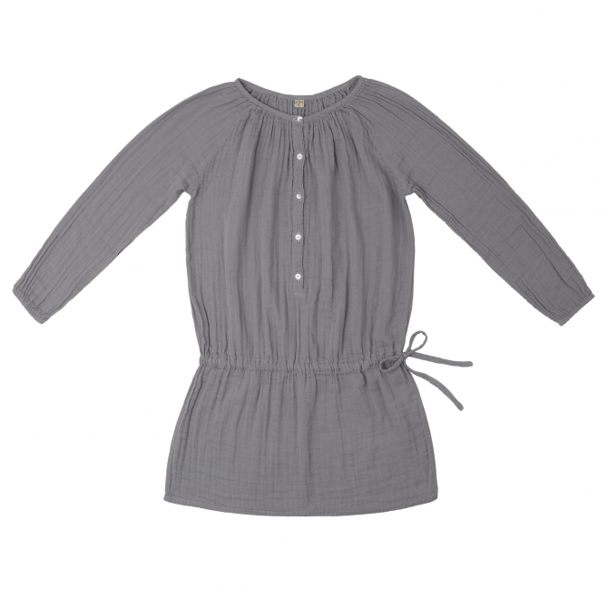 Naia Dress Mum stone grey - Numero 74