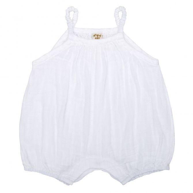 Numero 74 Lolita Romper Baby white