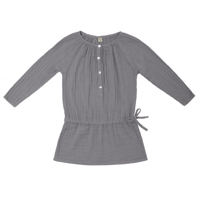 Naia Dress Baby & Kid stone grey - Numero 74