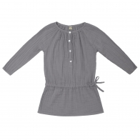 Naia Dress Baby & Kid stone grey
