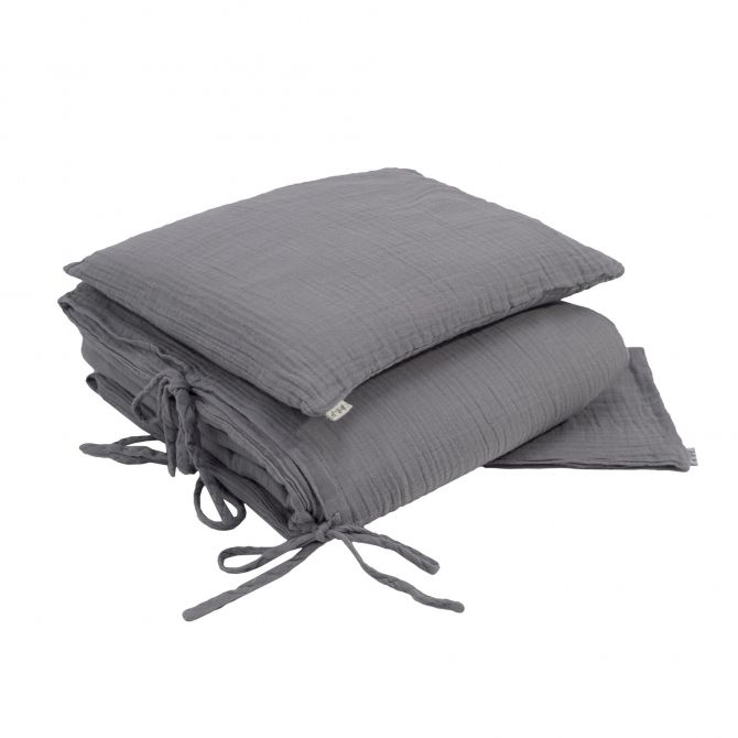 Numero 74 Duvet Cover Set stone grey