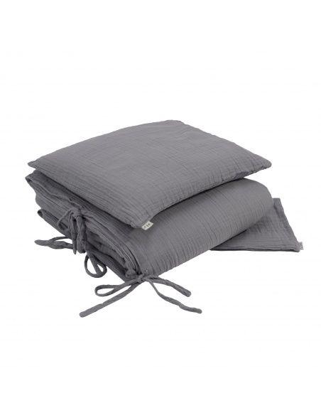 Numero 74 Duvet Cover Set stone grey