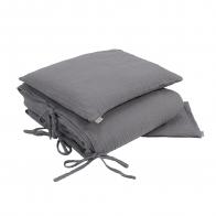 Duvet Cover Set stone grey