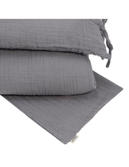 Duvet Cover Set stone grey - Numero 74