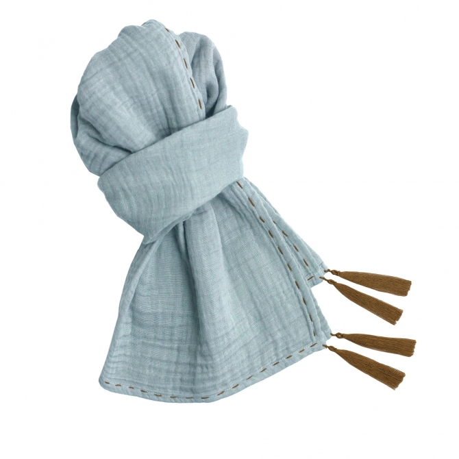Numero 74 Scarf Kid sweet blue