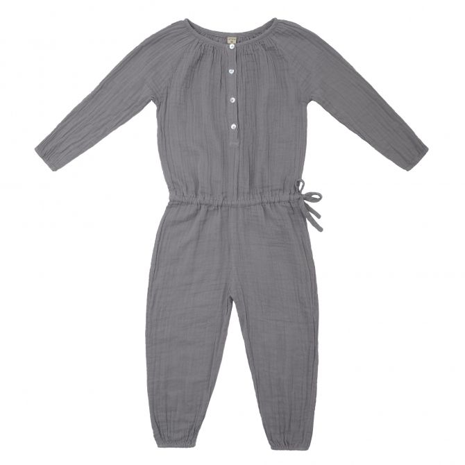 Naia Jumpsuit Kid stone grey - Numero 74