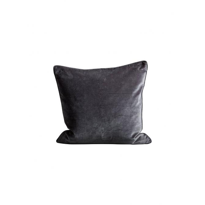 Tine K home Poszewka na poduszkę velvet granatowa