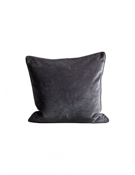 Tine K home - Poszewka na poduszkę velvet granatowa - 1
