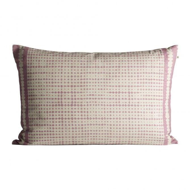 Poszewka na poduszkę Printed różowa - Tine K home