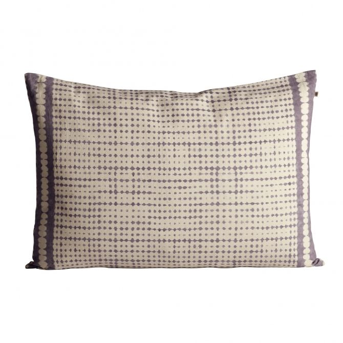 Printed cushion cover lavender - Tine K home