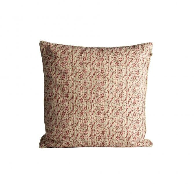 Poszewka na poduszkę small flowered print czerwona - Tine K