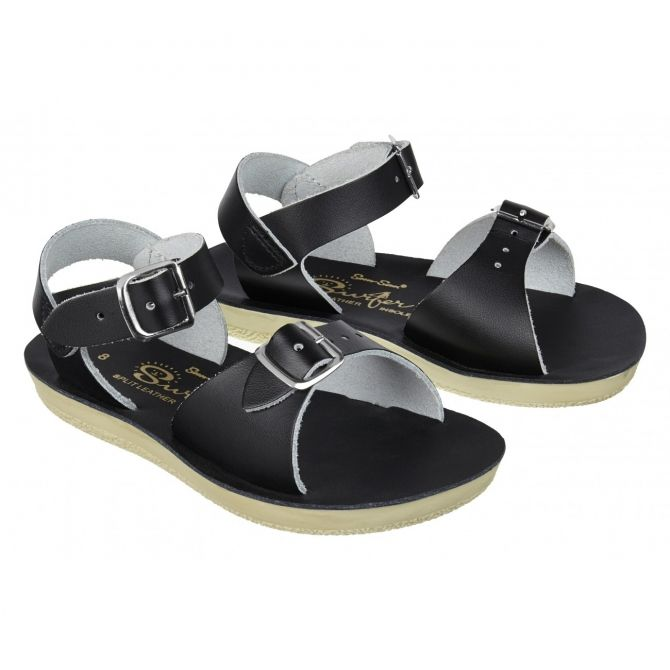 Sandals Surfer black - Salt Water