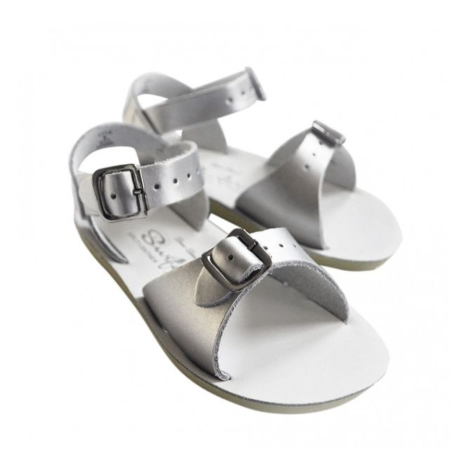 Sandals Surfer silver - Salt Water