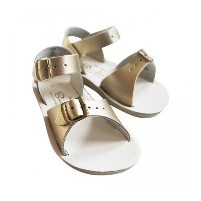 Salt Water Sandals Surfer gold