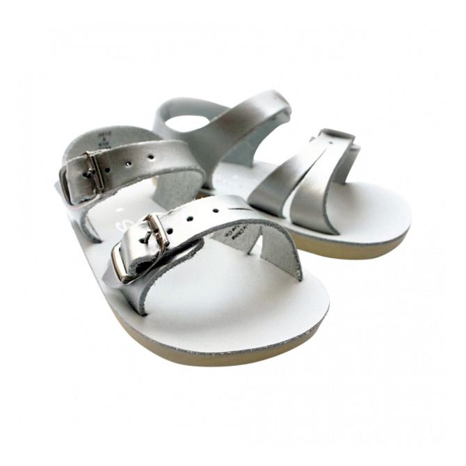 Sandals Seawee Premium silver - Salt Water