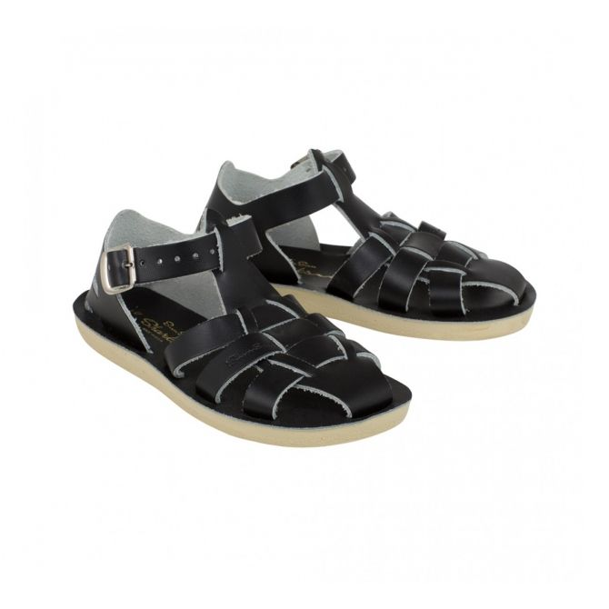 Sandals Shark black - Salt Water