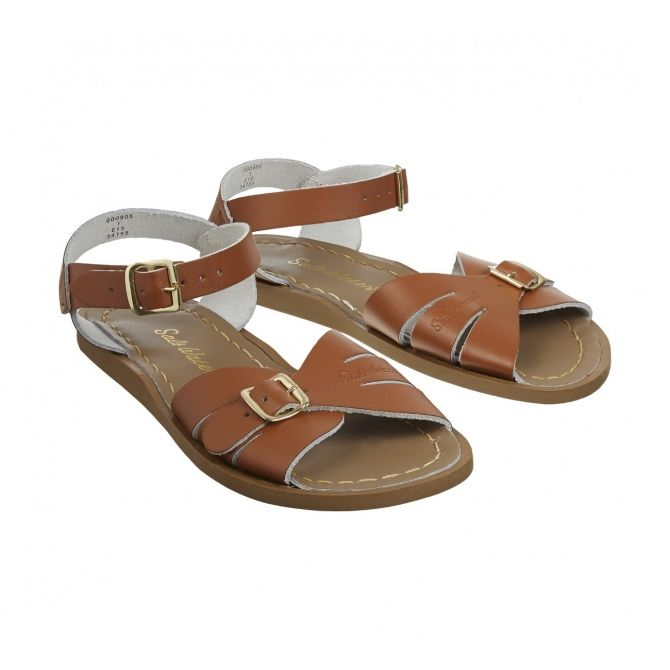 Sandals Salt-Water Classic adult brown - Salt Water