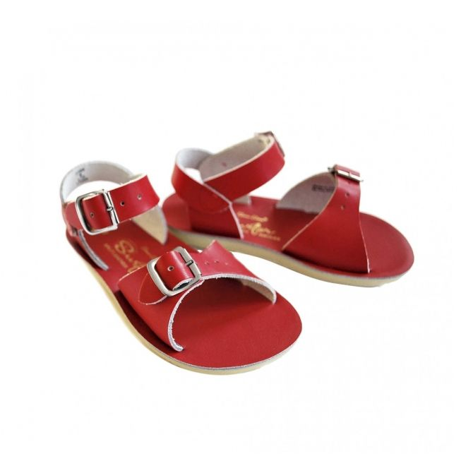 Sandals Surfer red - Salt Water