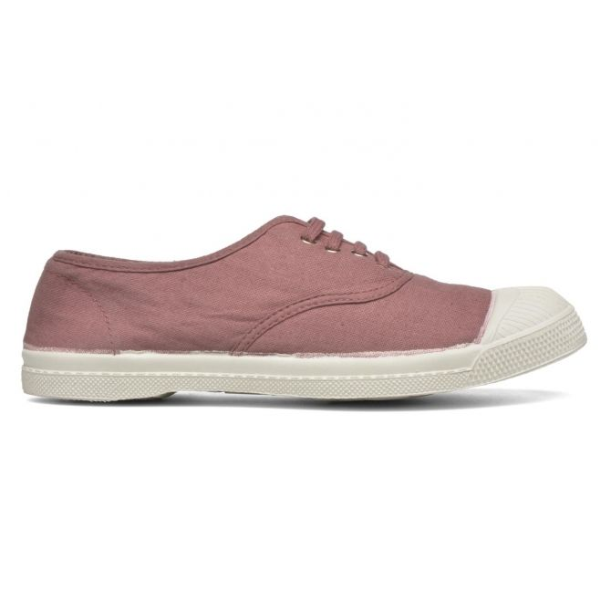 Lacets Tennis Dusty pink adults pink - Bensimon