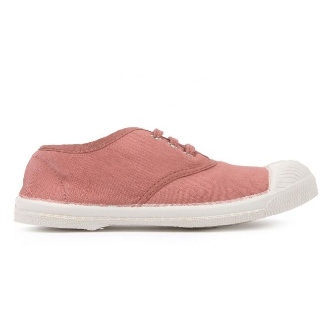 Lacets Tennis Dusty pink - Bensimon