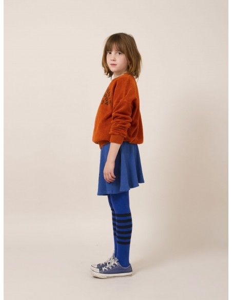Blue Striped Tights - Bobo Choses