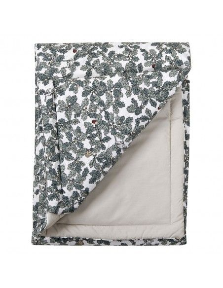 Garbo & Friends Woodlands Bed Cover green