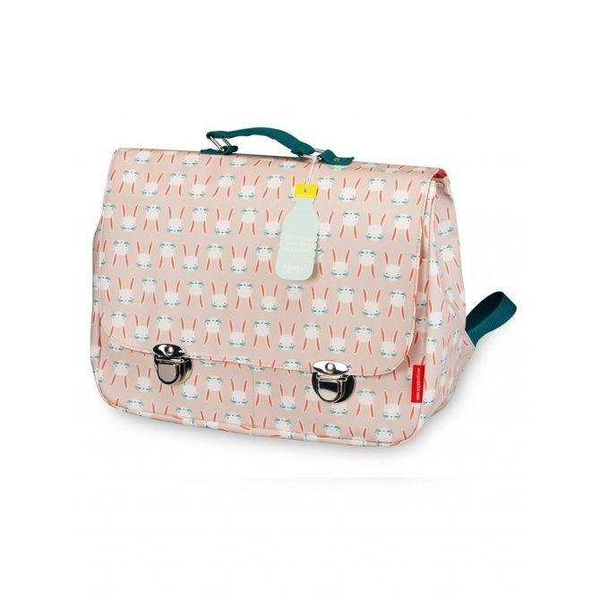 Schoolbag Bunny pink - Engel.