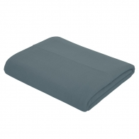 Top Flat Bed Sheet Plain ice blue