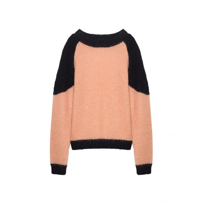 Sweater Laela salomon pink - Les Coyotes de Paris