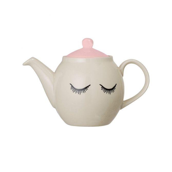Dzbanek do herbaty Audrey biały - Bloomingville