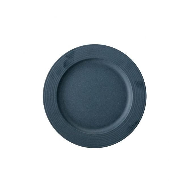 Bloomingville Java Plate bamboo blue