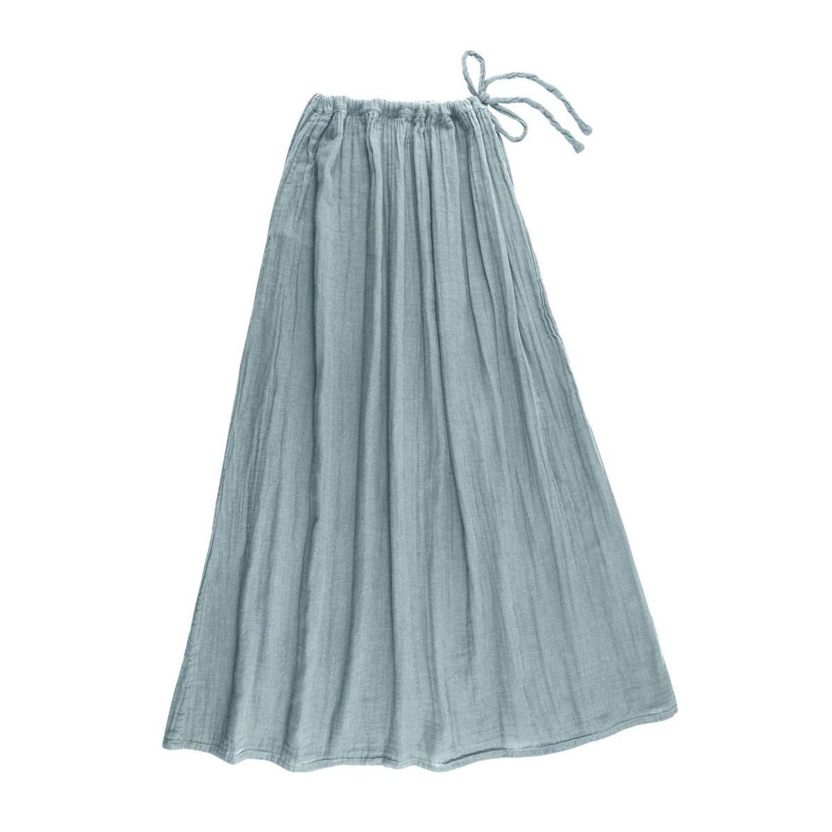 Numero 74 Spódnica dla mamy Ava długa zgaszony błękit