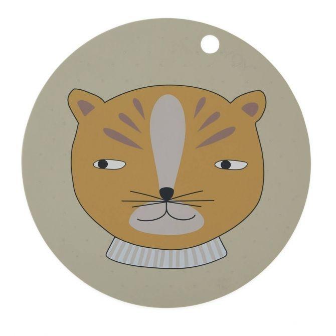 Podkładka pod talerz Leopard - OYOY