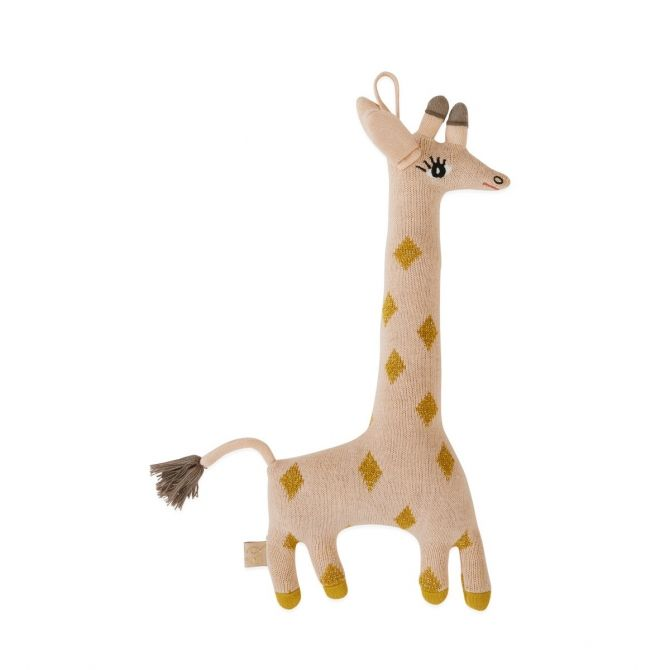 Cushion Guggi Giraffe Toy - OYOY
