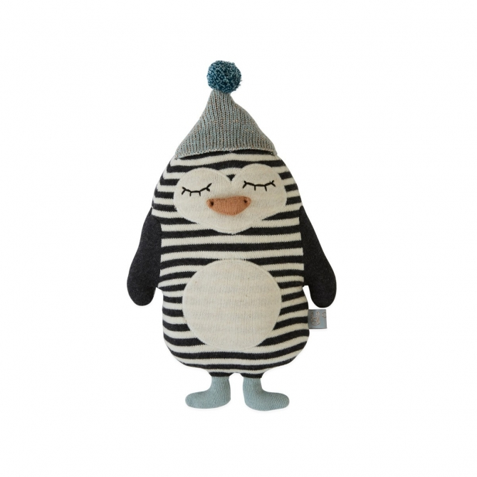 Cushion Penguin Bob Toy - OYOY