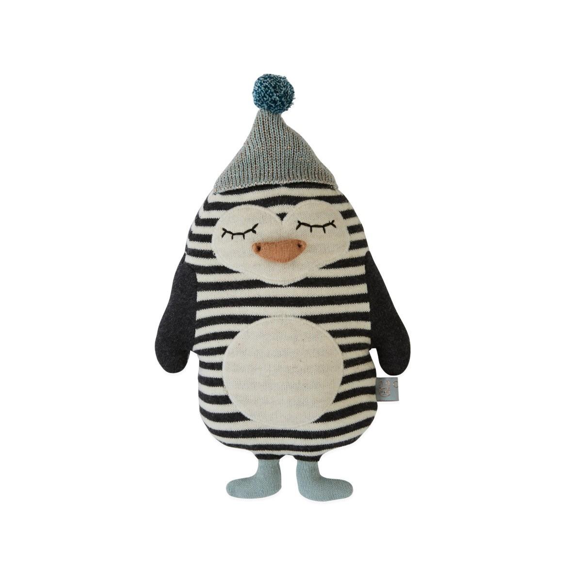 OYOY Poduszka Pingwin Bob Zabawka